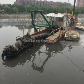 jin盟 guonashui库清淤船的生产工厂 6寸