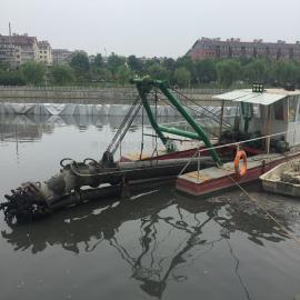 jin盟六寸绞吸式清淤船zuo业xiaoguo够用6寸