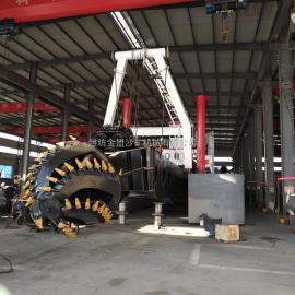 金盟 小xing挖泥船de工作xiao率 绞吸式挖泥船产liang 6寸