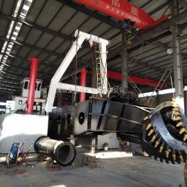 金盟 大型绞吸式抽沙船全液压模式造价 介绍 12寸