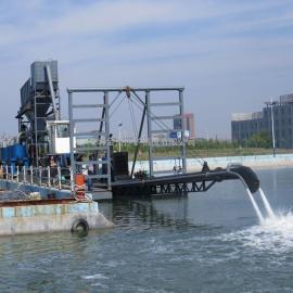 金盟印度尼西亚十二寸射吸式抽沙船配多大马力柴油机12寸