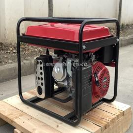 凯汇成5kw gx390动力 单相 手电动一体 车载汽油发电机EC6500E