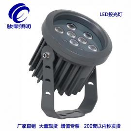 LED投光灯 压铸铝灯头太阳能投光灯求购JR20200113骏荣