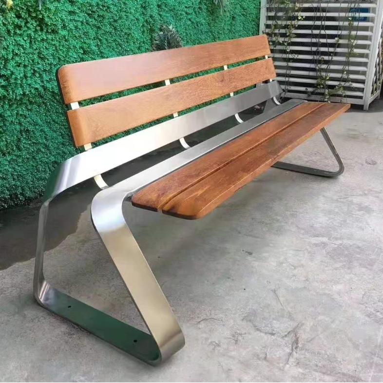 景观长条休闲椅定制厂商-景区公园椅货源公司
