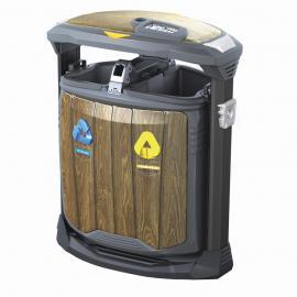 高档垃圾桶货源成品 果皮箱厂商 环卫果壳箱