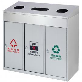 京口不锈钢垃圾桶-京口户外分类果皮箱生产厂