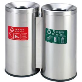 社区保洁不xiugang垃圾桶生产定制厂