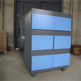 塑胶厂异味废气活性炭安装塑胶部产品油漆喷油异味处理UV净化