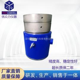 优众力柱式测力传感器 试验机校准力传感器2000吨