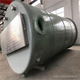 雨水泵井4000*9600mm 智能一体化雨污分流泵站 振飞一体化泵站
