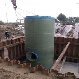 日处理280立方污水泵站 地埋式一体式泵站 一体化提升泵站