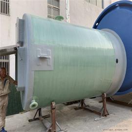 预制筒体DN3600一体化污水提升泵站玻璃钢井筒振飞一体化泵站