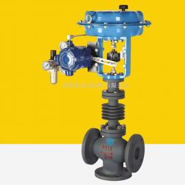 LKZXX-16BWS波纹管密封型气动薄膜三通调节阀乐控仪表