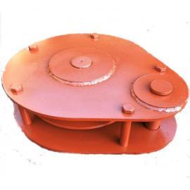 涨紧静滑轮JWB75WJ矿用无极绳调速机械绞车导向张紧绳轮