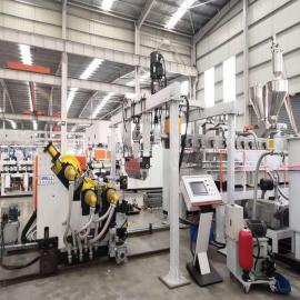 金韦尔PLA/淀粉/秸秆可降解片材生产线