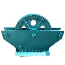 矿用JWB110BJ无极绳调速机械绞车配件尾轮主压绳轮组 托绳轮组