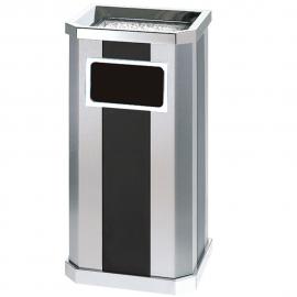 电梯口带烟缸垃圾桶-服务区吸烟桶-办公楼走道果皮箱厂商