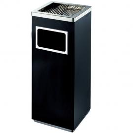 电梯口带烟缸果皮箱-服务区吸烟桶-办公楼走道垃圾桶厂商