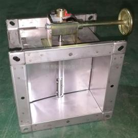 金光玻璃钢 不锈钢风量调节阀 FT