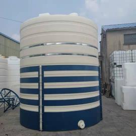 华社滚塑化工液体搅拌罐耐酸碱聚羧酸复配罐环保水箱抗氧化材质30T