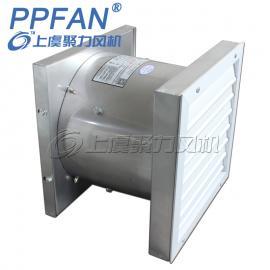 上虞聚力 温控风机智能型变电所开关室低噪音轴流风机 ZTF-3/G