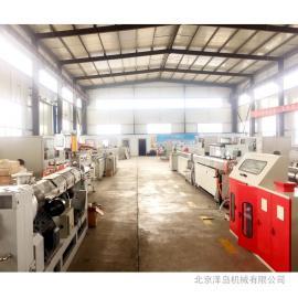 塑料挤管机组G30-300中国制造