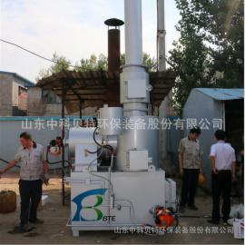 中科贝特xianhuoxiao型医疗、生huo 工业la圾焚烧炉无烟无味环保达biao排放WFS
