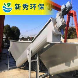 新秀型螺旋式砂水分离器安装方式LSSF