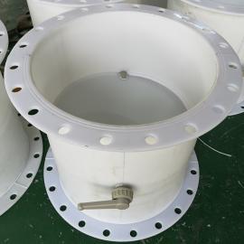 耐腐蚀FRPP/PPH法兰式塑料风阀DN800萱瀚