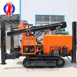华夏巨匠FYX-200履带式气动水井钻机 200米水井一天就可以钻进6478