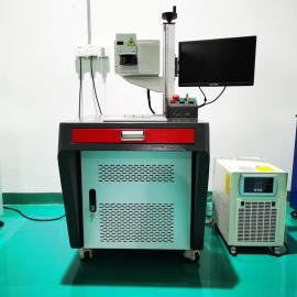 力捷科激光LJK-10W紫外激光打标机塑料耳机壳打黑