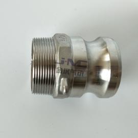 金汉不锈钢F型快速接头 304材料拉耳式快接