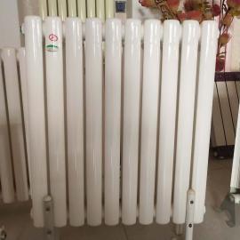 虹圣阳家用 工程用 �zhong浦�xing散热器 nuan气pian 钢二柱GZ206
