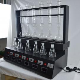 半自动蒸馏装置菲跃FY-ZLY6C