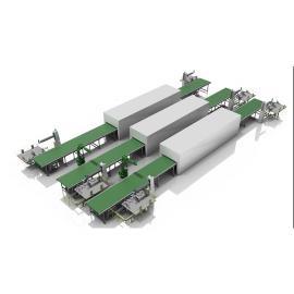 铭九智能自动化生产 智能生产线 非标生产线 智能装配线ZN-1000