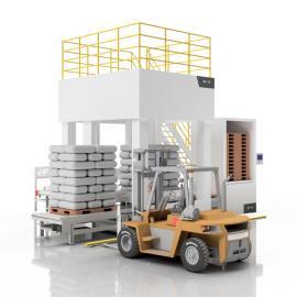 铭九智能低位码垛机 包装机械设备 纸箱堆码机MD-1420