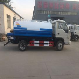 东风SDF651多利卡D6玉柴115马力蓝牌吸污车
