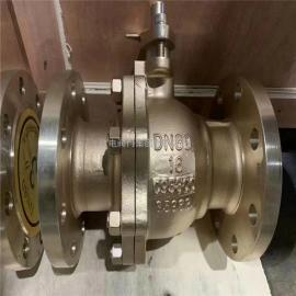 镍lv青铜合金球阀欧dianC95800-Q41F-16CU