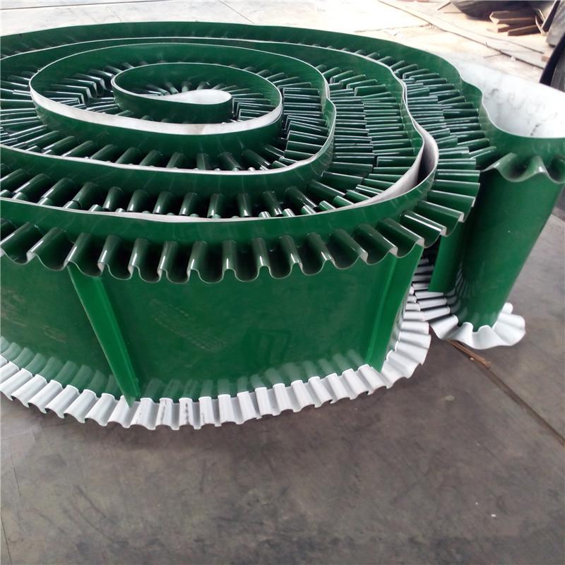 六九重工移动式养殖厂饲料输送机Lj8防滑爬坡皮带输送机按需加工dy800