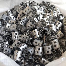 科隆牌特殊材质2205双相钢鲍尔环填料用于石油吸收装置
