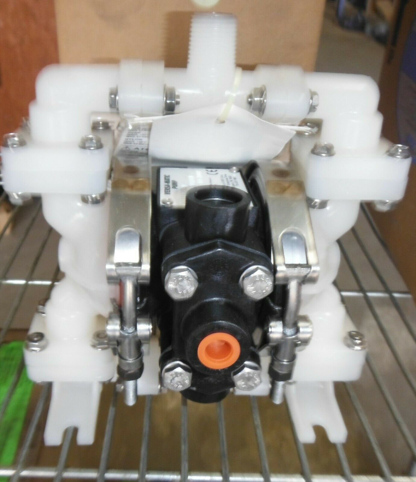 Versa-Matic威马E6系列1/4寸螺栓式塑料泵e6pp6x650