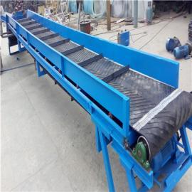 六九重工可移动式集装箱双向升降皮带输送机Lj8dy800