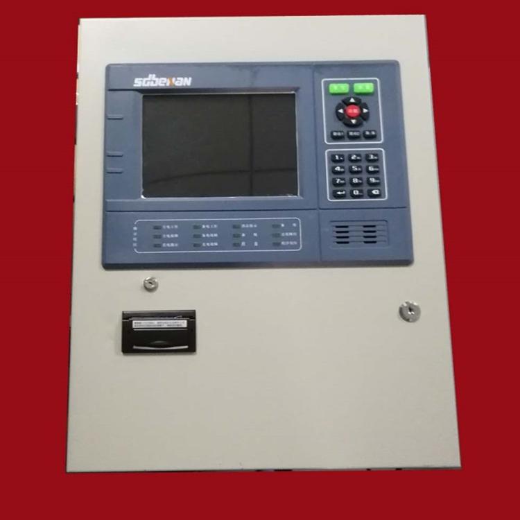 �L仁消防��急照明系�y一�w是集中�源QW-D-0.6KVA