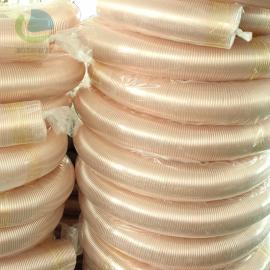 莱克斯木工吸尘通风管PU钢丝伸缩软管 工业吸尘管 耐磨软管LKE502