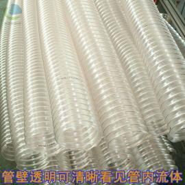 莱克斯带钢丝吸尘通风管木工吸尘管雕刻机吸尘软管0.4MM壁厚LKE501
