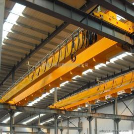 润德QD定制16吨双梁行车 20吨室内电动起重设备双梁吊钩桥式起重机