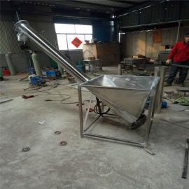 六九重工倾斜垂直小麦玉米螺旋上料机 榨油机配套绞龙提升机图片Lj8