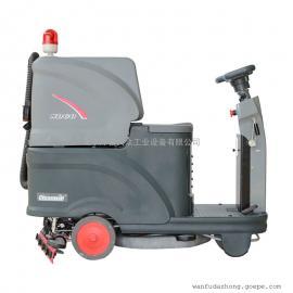克力威cleanwill车间洗地机 驾驶式洗地机 全自动洗地机 工业洗地车XD60