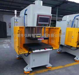 弘辉科技轴承伺服压装机,数控检测油压机,减震器精密压入机HK-S07