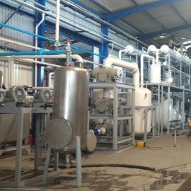 重庆阳江轮胎油脱色裂解塑料油蒸馏全套设备YJ-DSL-5